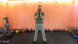 How to; The Kettlebell Two Hand Clean to Catch