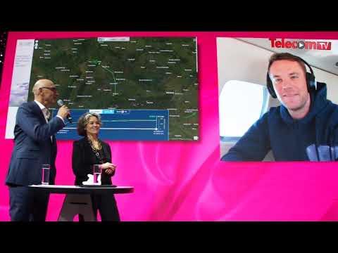 Deutsche Telekom connects with Manuel Neuer, via European Aviation Network