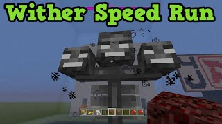 Minecraft Xbox One / PS4 - RACE TO WITHER SPEEDRUN