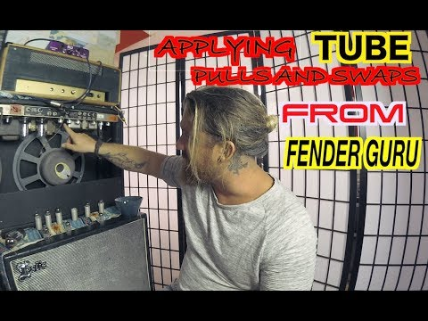 THE Stevie Ray Vaughan Amp 1964 Fender Vibroverb [ Mods from Fender Guru]