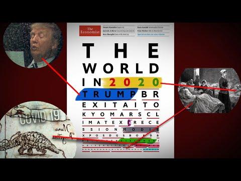 Aslında 2020'deki Her şey önceden Gösterilmiş! (The Economist 2019 - 2020 Analiz)