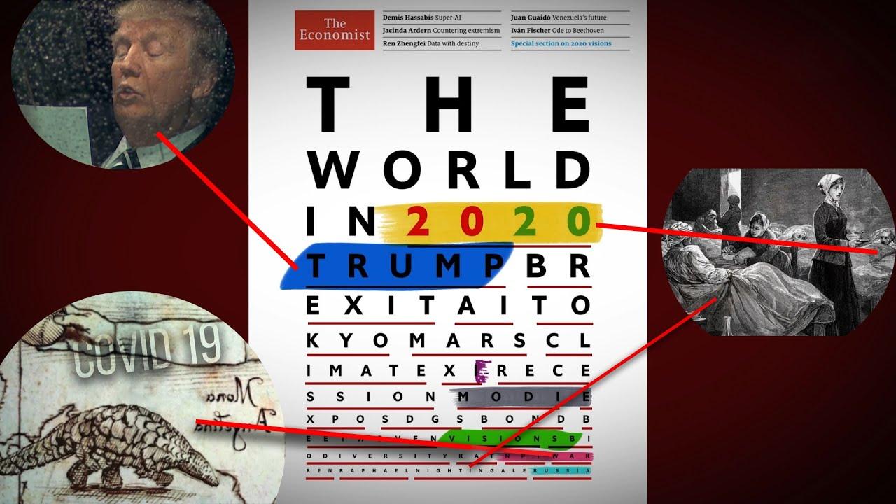 Aslında 2020'deki her şey önceden gösterilmiş! (The Economist 2019- 2020 analiz)
