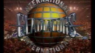 International Gladiators (1995) Final with Russian commentary