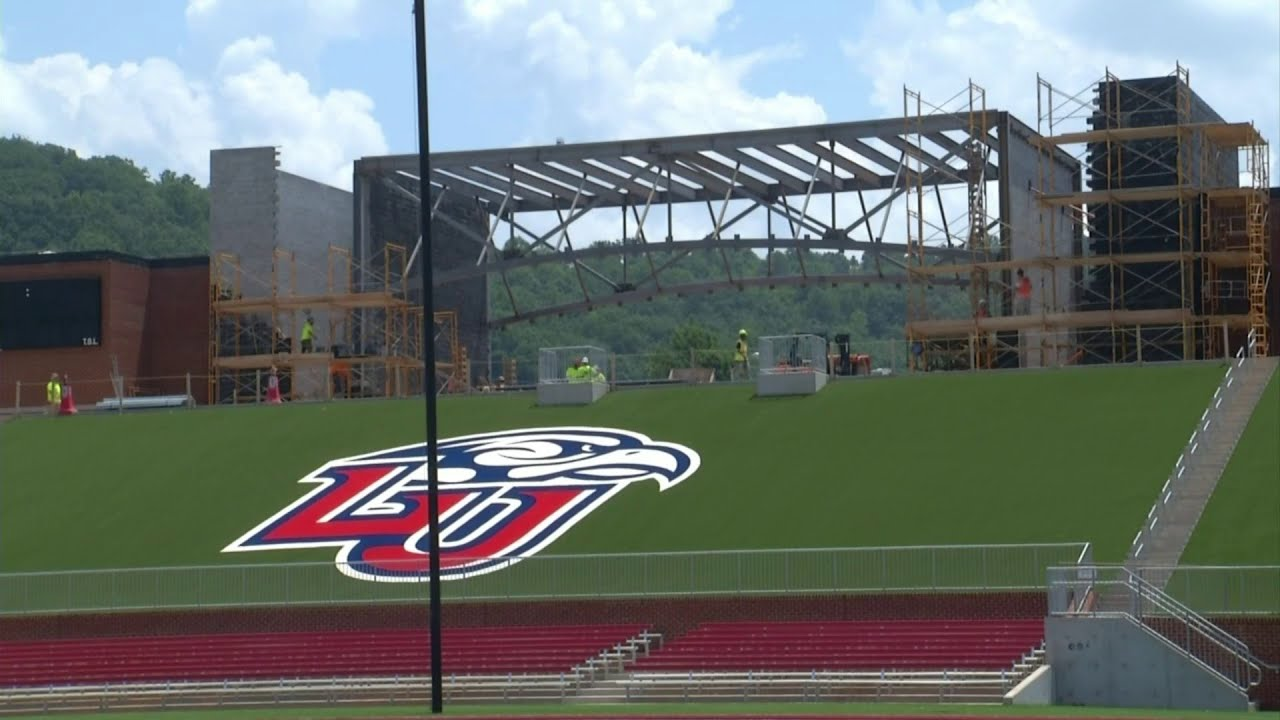 Williams Stadium Expansion Continues At Liberty Ahead Of Season Opener Youtube
