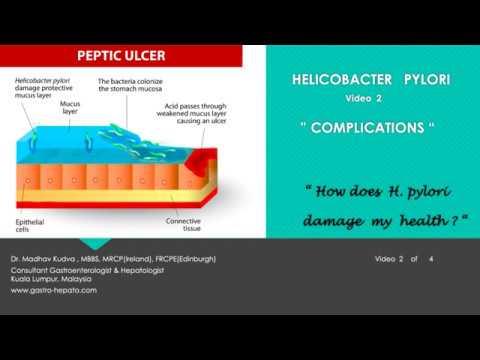 HELICOBACTER PYLORI-COMPLICATIONS