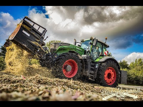 Maishäckseln 2017 | FENDT 1050 | Monster - Silieren | Claas Jaguar | Lohnunternehmen Walter Schütt