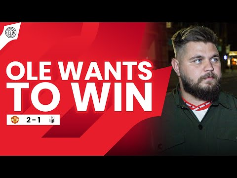 Ole Wants To Win Europa League! | Stephen Howson Fancam | Manchester United 2-1 LASK