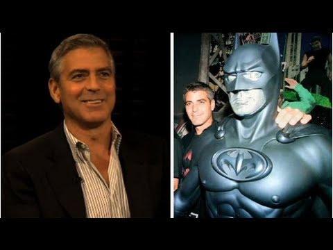 George Clooney pide perdón por Batman y sus
