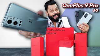 OnePlus 9 Pro Indian Unit Unboxing & First Impressions ⚡ Flagship Ho To Aisa | W/ Hasselblad Camera