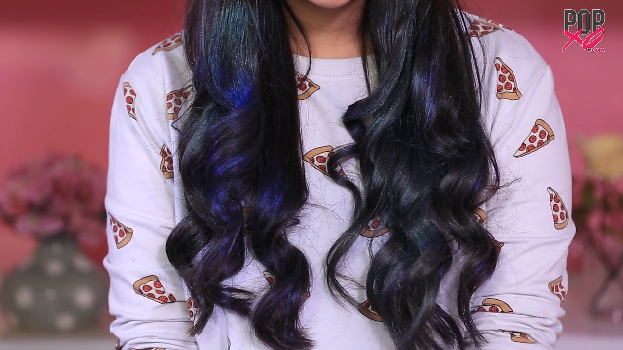 Diy Hair Color At Home Temporary Hair Color For A Day Popxo