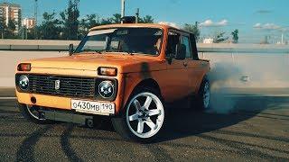 видео Нива пикап (ВАЗ-2329) - российский грузовой пикап Lada 4x4 Pickup