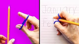 30 COOL SCHOOL HACKS