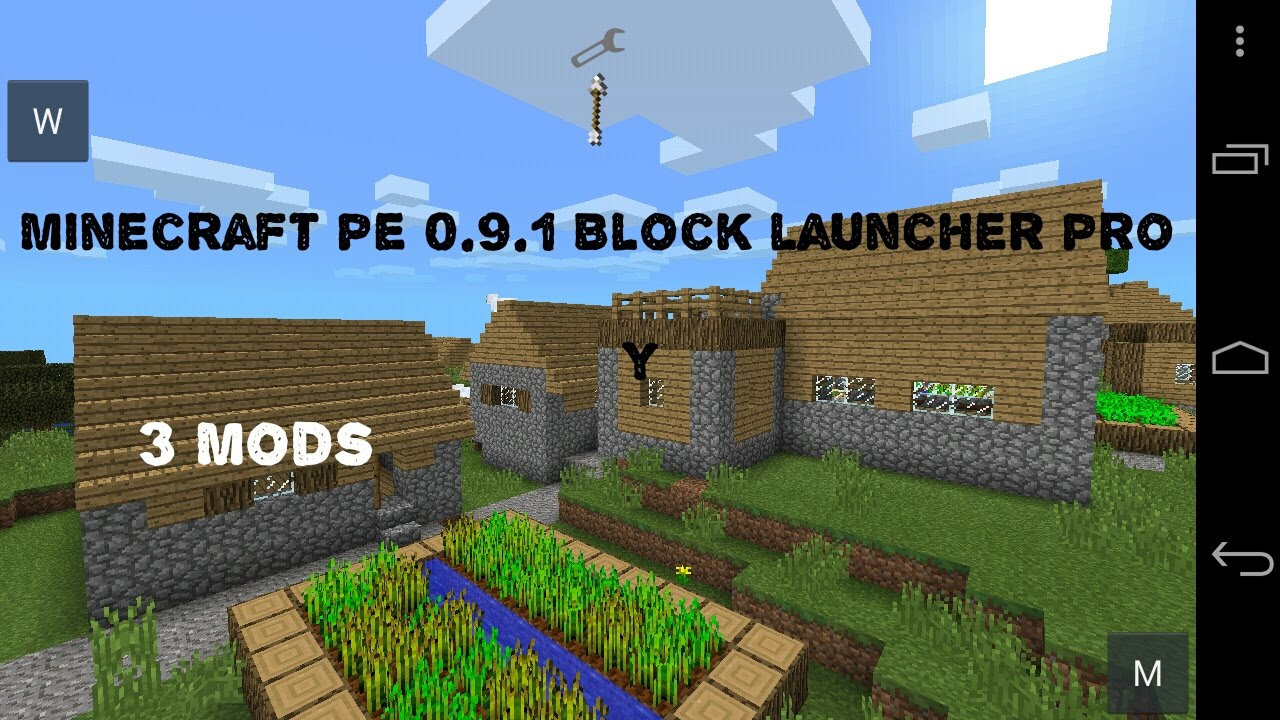 Блок лаунчер для майнкрафт 0.13.0