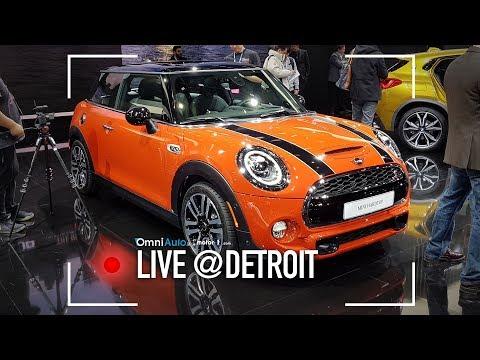 MINI restyling: ha pure i fari matrix LED | Salone di Detroit 2018