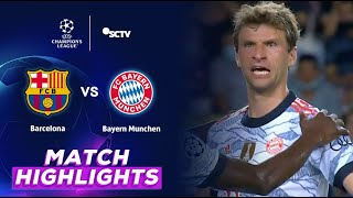 Barcelona Vs Bayern Munchen Highlights Uefa Champions League 2021 2022