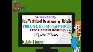How to make free Wapkiz website | with free domain | free hosting | Full Design Code For Wapkiz | TS