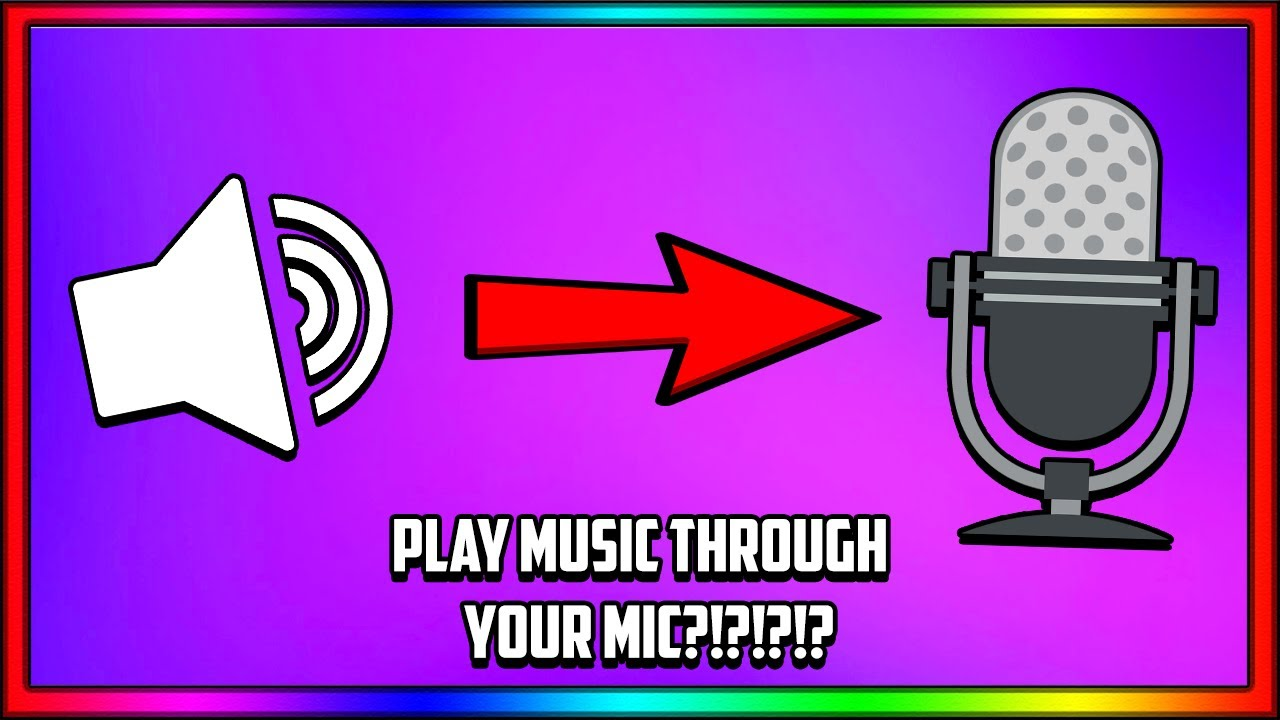 [SOUNDPAD] HOW to play MUSIC through your MIC?!?!?!?