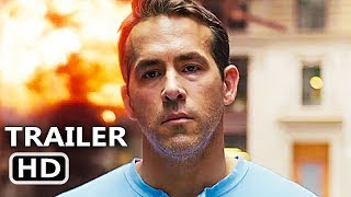 Free Guy  Trailer  New 2020  Ryan Reynolds Action Movie Hd