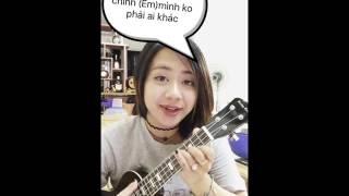 (Ukulele cover)Khi tôi là tôi - Rocker Nguyễn (OST phim ngắn Khi tôi là tôi)