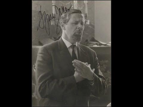 Alfred Deller sings Handel  - RARE