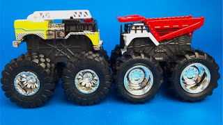 Tonka Monster Metal Unloader and Flame Destroyer - Big Wheels Mighty Machines Truck Toys For Kids