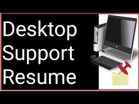 Desktop Support Engineer Resume - Desktop Support Engineer Job Role & Responsibilities In Hindi 2020
