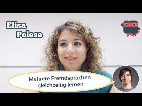 Kann man mehrere Fremdsprachen gleichzeitig lernen? Elisa Polese sagt man kann & soll!