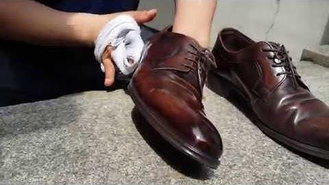 누구나 할 수 있는 구두닦는법