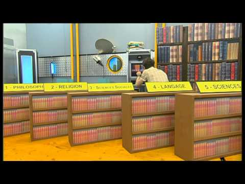 C'est pas sorcier -Bibliothèque Nationale : La mémoire à livre ouvert
