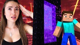 LOST IN THE NETHER!! Minecraft w/ My Boyfriend