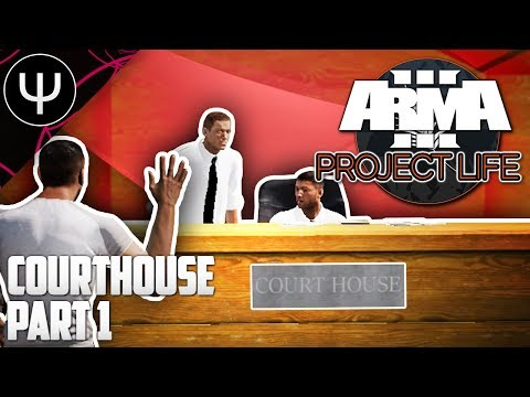 ARMA 3: Project Life Mod — Courthouse — Part 1 — Escape Artists!