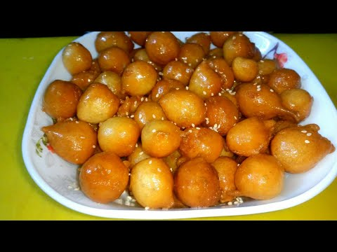 Arabian dessert luqaimat