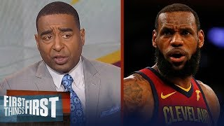 Cris Carter implores LeBron to channel Kobe and MJ in Cavs - Pacers Game 2 | FIRST THINGS FIRST