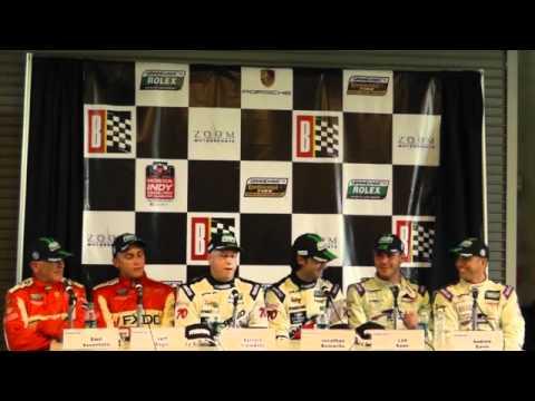 Rolex Sports Car Series - Barber GT Podium Press Conference