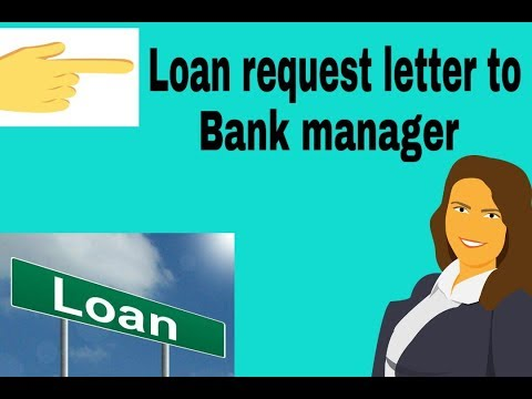Loan Request Letter To Bank Manager | Loan Application Letter| PK WRITER | 2019