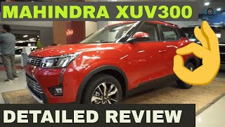 Mahindra XUV 300 Detailed Review with On Road Price | Mahindra xuv300 price in India | Top Model W8O