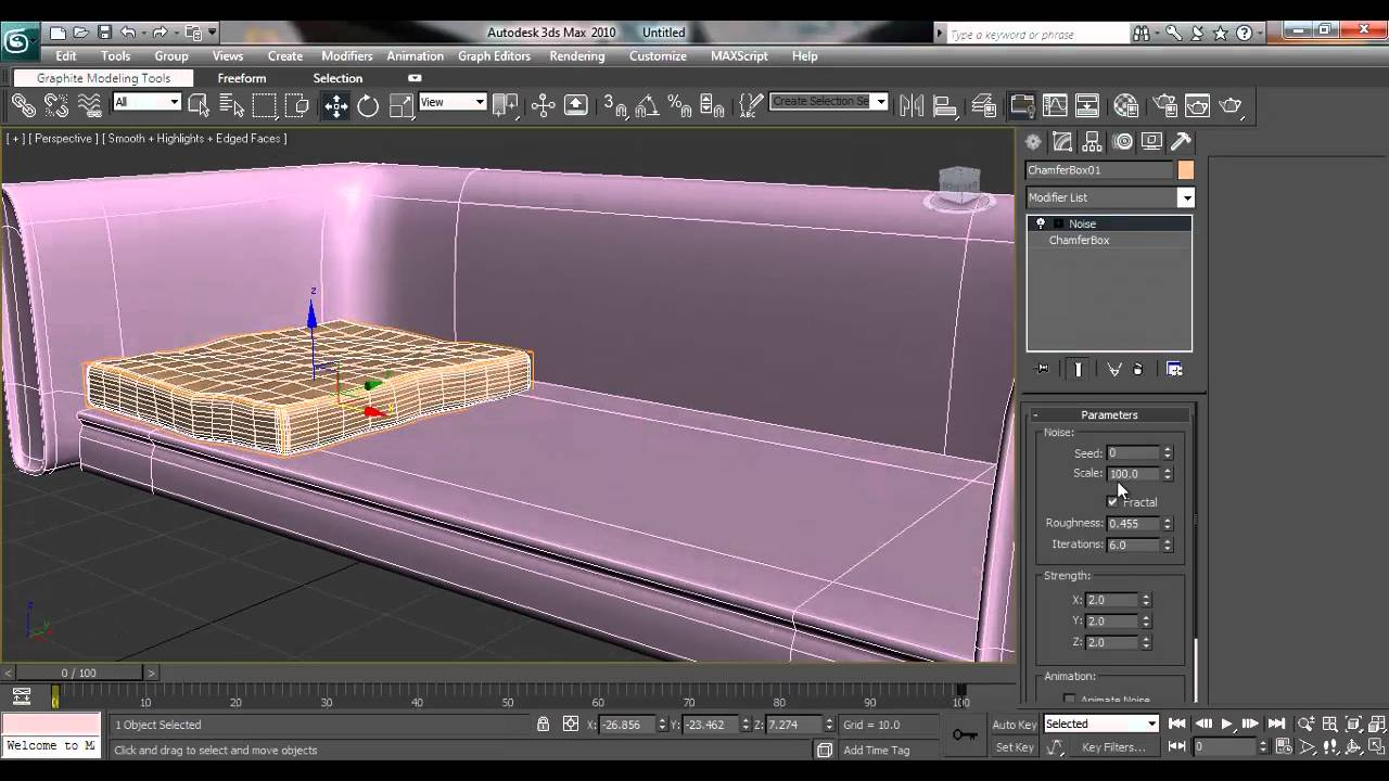 3ds Max House Modeling Tutorial: How To Model Couch/Sofa For Architectural Interior  Design   YouTube