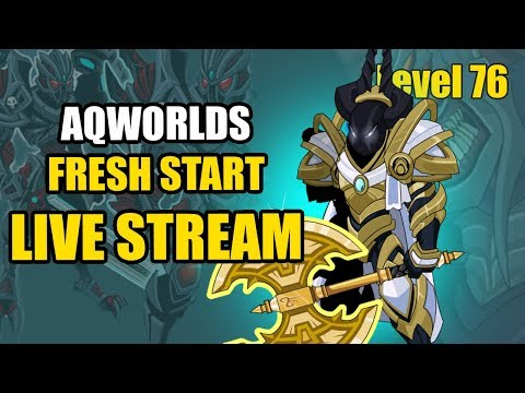 AQW Fresh Start LIVE STREAM! NULGATH EVENT