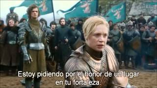 brienne of tarth vs the flowers knight ( hd 1080p)