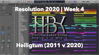 Resolution 2020 | Week 4: Heiligtum (Comparison)