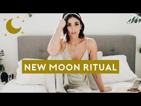 My New Moon Ritual + Crystals