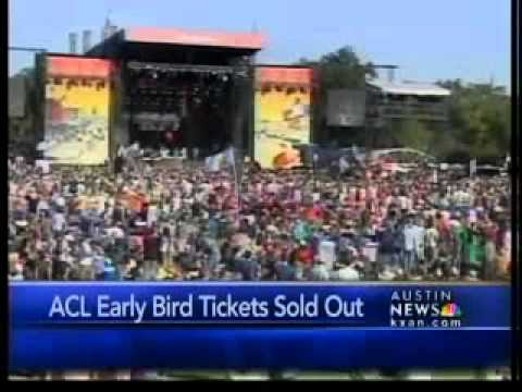 2011 ACL 'early bird' tickets sold out