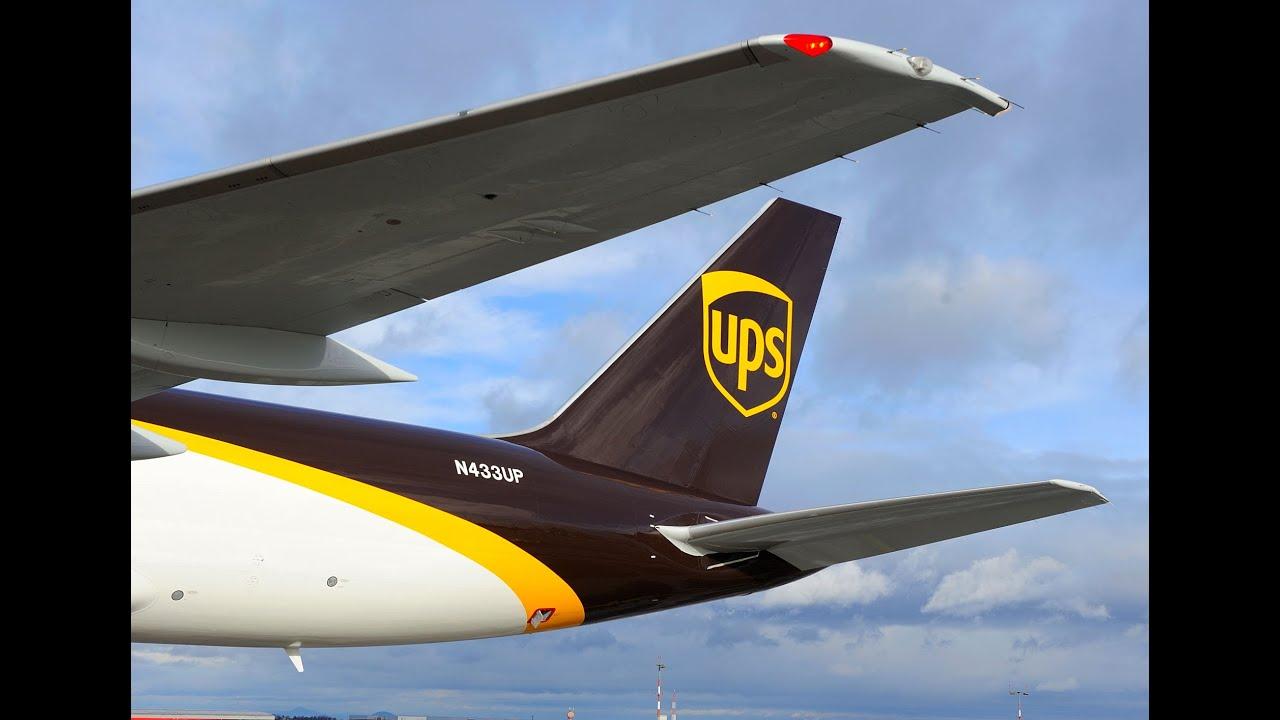 Magazín Terminál - Boeing 757 společnosti UPS Airlines