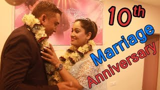 10th Marriage Anniversary Celebration of Dhurmus Suntali and video release