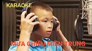 Mưa Chiều Miền Trung Karaoke Nguyễn Quốc Linh NHạc Chuẩn