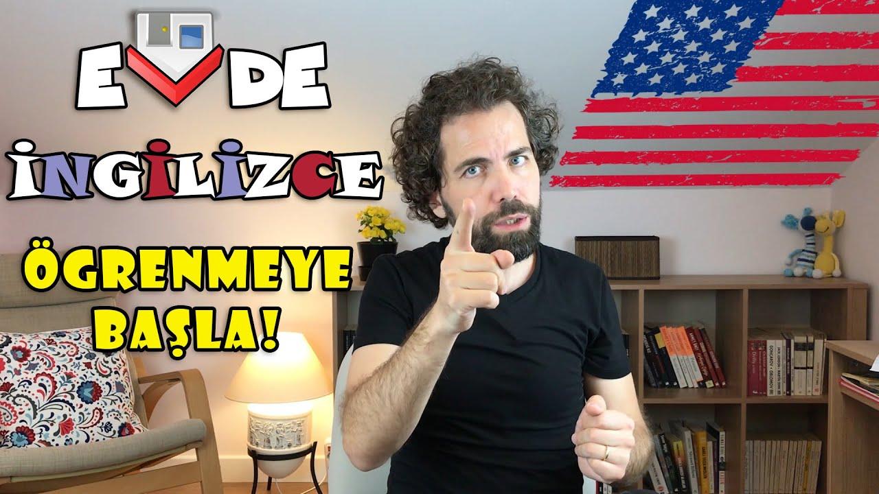 Evde İngilizce Öğrenmeye Başla!