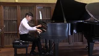 Hyeonuk Park plays Chopin Op. 10 No. 4