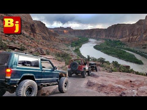 Moab Rim Trail Jeep Adventure - Utah Week