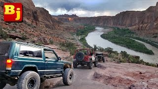 Moab Rim Trail Jeep Adventure - Utah Week