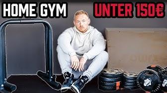 HOME GYM für unter 150€ zusammenstellen | Meine TOP 5 Home Gym Equipment Vorschläge